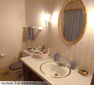 Upstairs full bathroom of apartments for lease, rent in Columbus, Ohio